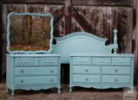 Country Teal French Provincial Bedroom Set  Tuesdays ...