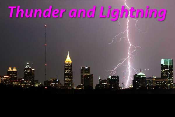 thunder-&--lightning
