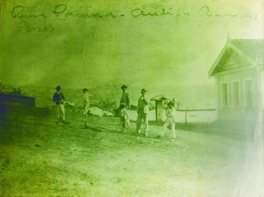 Rua Paraná – início do século XX Antiga Rua do Peixe