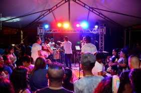 Samba na Comunidade no bairro Corcetti (foto Fayne Scalioni 06-10-2018) (2)