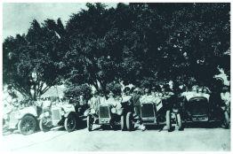 Corrida de Carros – percurso entre Varginha e Elói Mendes. 1927.