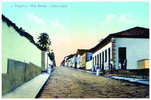 Antiga Rua Direita – atual Rua Presidente Antônio Carlos esquina com Rua Cel. João Urbano. Início do séc. XX.