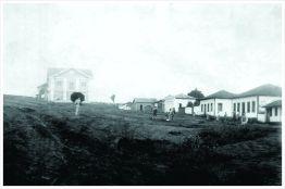 Alto da Avenida Rio Branco – sede do Tiro de Guerra. Final do séc. XIX.
