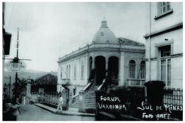 Palacete Villa Dona Vica – patrimônio histórico de Varginha / MG desde 2000. Construção: 1913.