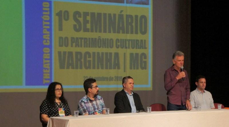 Seminário em Varginha discute preservação do patrimônio histórico e cultural