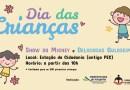 Dia das Crianças terá Show do Mickey e guloseimas gratuitas no Jardim Estrela