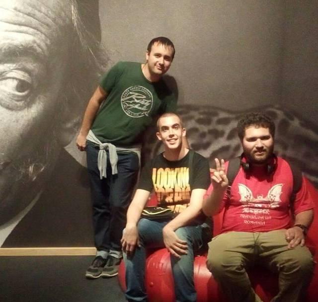 Els nois del Grup Draco i Serrallonga avui al palaurobertcathellip