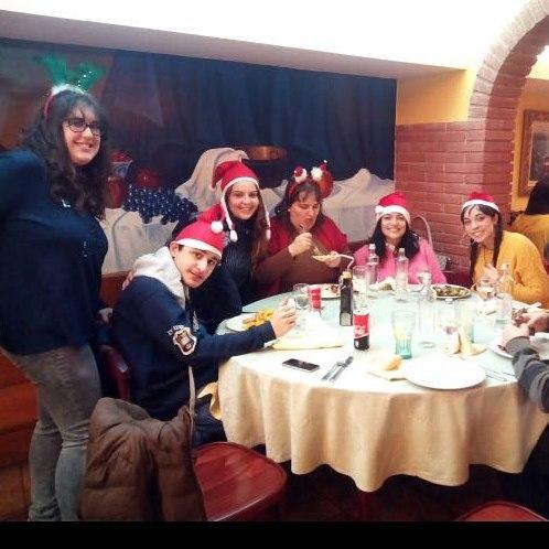 Tot lequip del PROI celebrant avui el dinar de nadalhellip