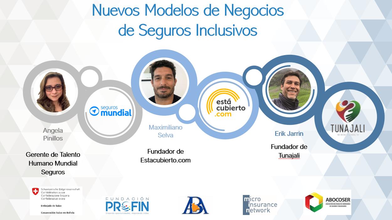 Presentamos Nuevos Y Exitosos Modelos De Seguros Inclusivos Para La Población Más Vulnerable De Bolivia