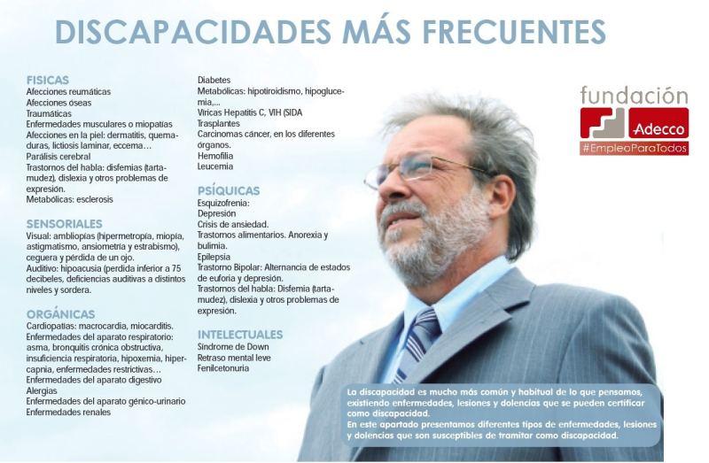 DISCAPACIDADES MÁS FRECUENTES OK