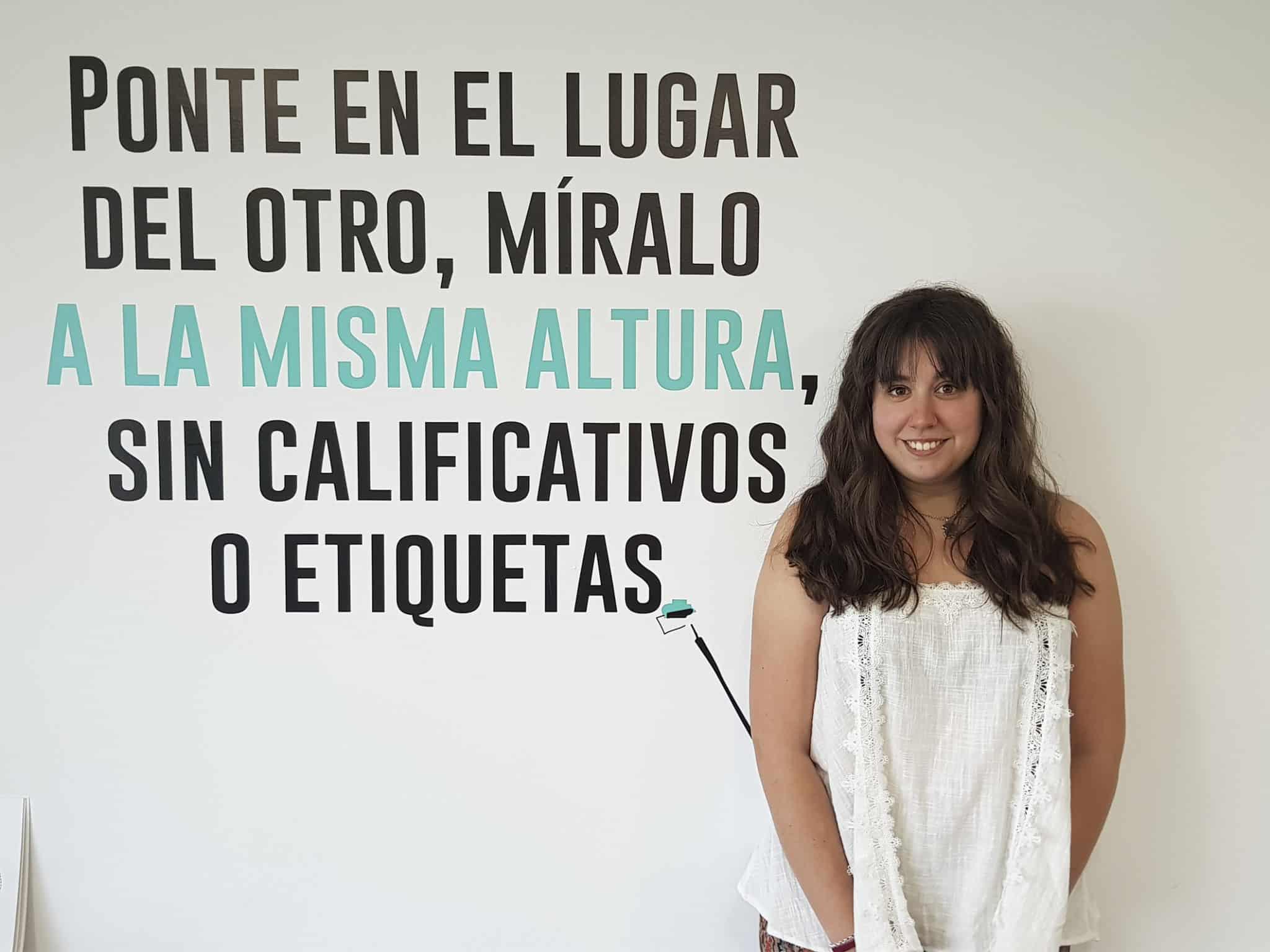 Ana Terrazas, beneficiaria becas Fundacion Adecco