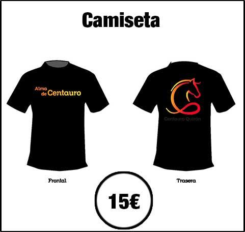 Camisetas negras centauro quiron