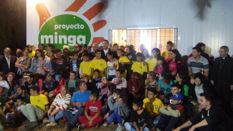 P. Ángel Fernández Artime en proyecto Minga.