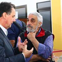 Ángel Fernández Artime y Mateo Méndez