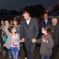 Minga de la mano con el P. Ángel Fernández Artime.