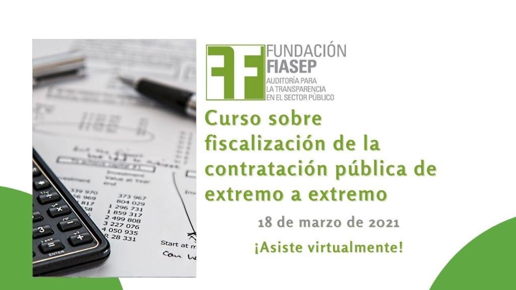 Curso sobre fiscalización de la contratación pública de extremo a extremo