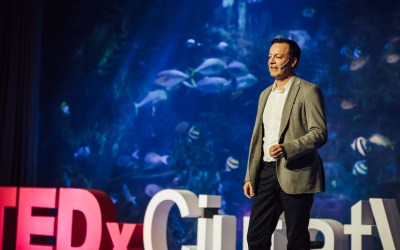 Florent Amion comparte su sueño de un Hospital Optimista en su charla TEDx