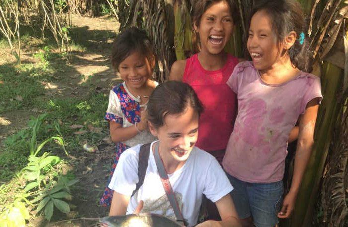 Clara Pérez Andújar en Amazonas