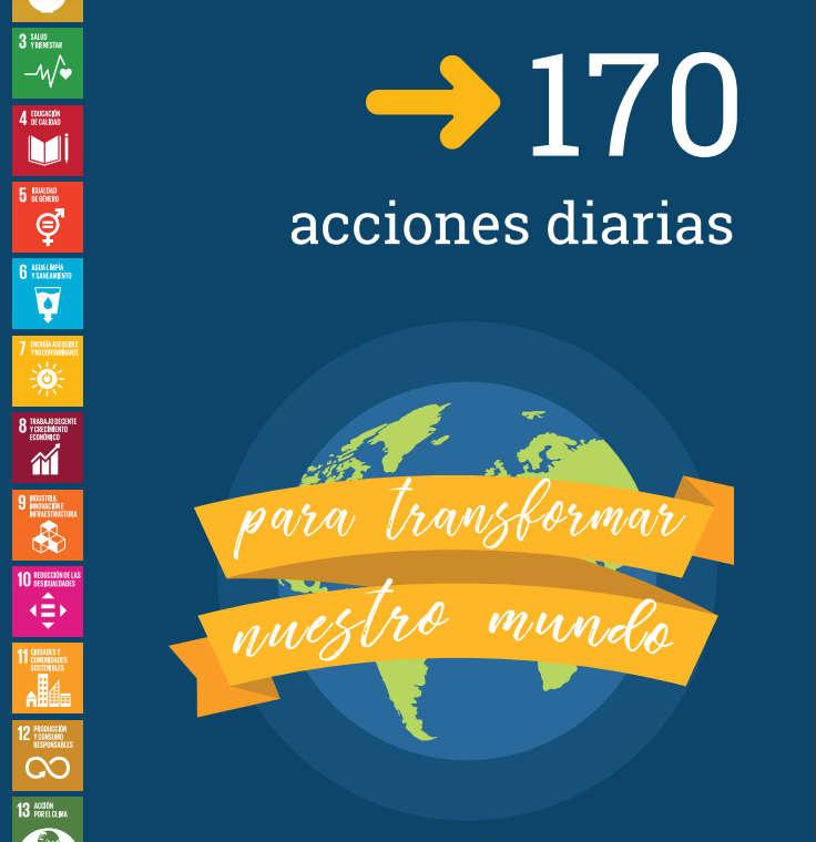 ODS: 170 acciones diarias para transformar nuestro mundo