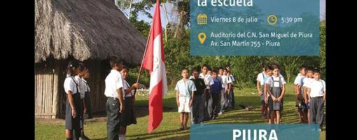Presentan en Piura resultados de estudio sobre Ciudadanía y Democracia en la Escuela Peruana
