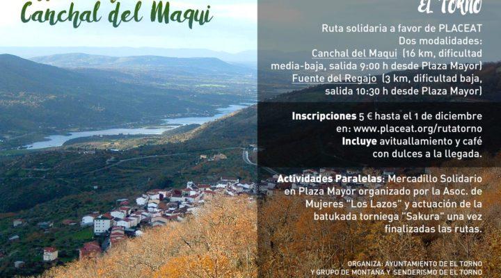 RUTA SOLIDARIA AL CANCHAL DEL MAQUI