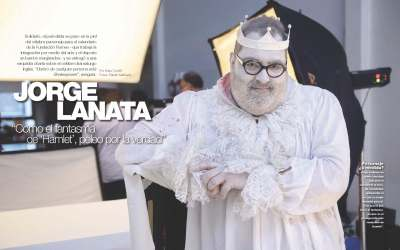 Revista Gente: Jorge Lanata se suma al calendario 2016