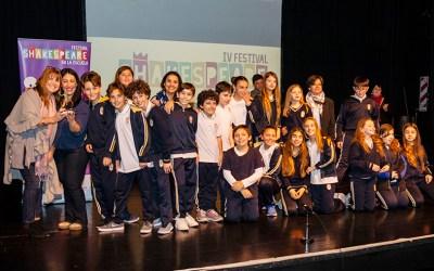 Se conocieron los ganadores del 4to Festival Shakespeare en la Escuela 2018!