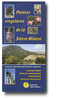 Plantas singulares de la Sierra Minera