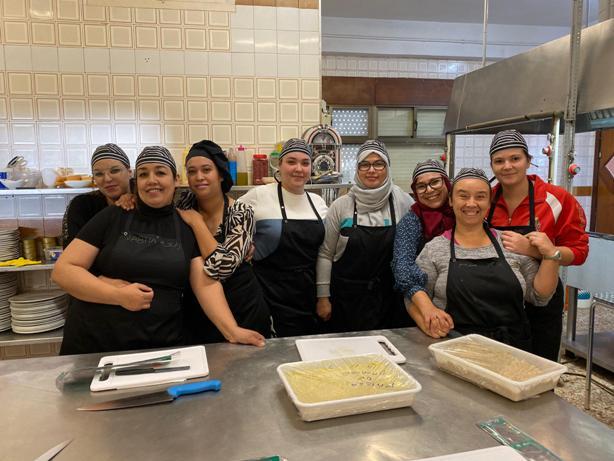 Los Nietos acoge otro año más el curso de «Ayudante de Cocina»