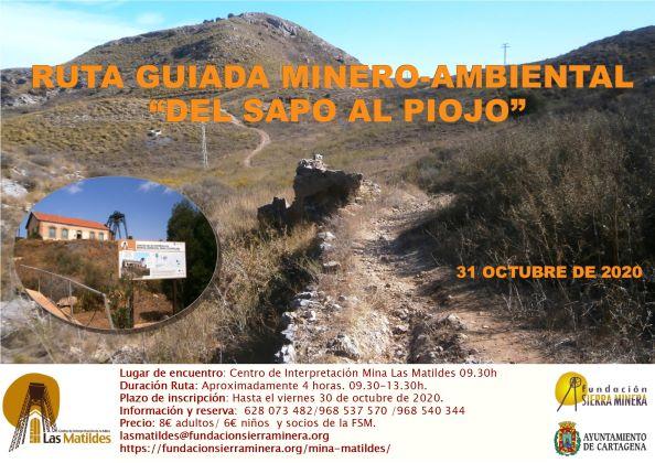 Ruta guiada minero-ambiental » Del sapo al Piojo»