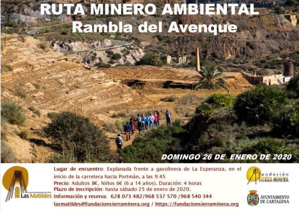 Ruta minero ambiental Rambla del Avenque