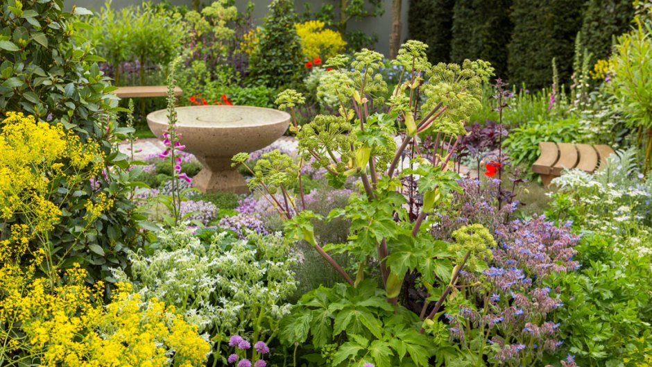 chcemy, by tak wyglądał nasz ogród społeczny - chelsea flower show londyn -modern apothekary fragment