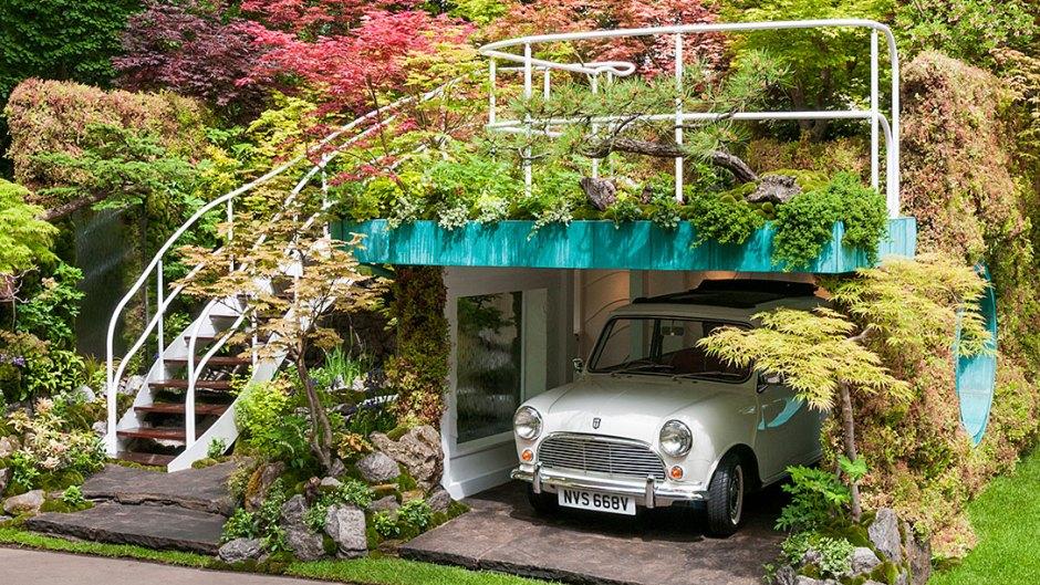chcemy, by tak wyglądał nasz ogród społeczny - chelsea flower show londyn - garage garden