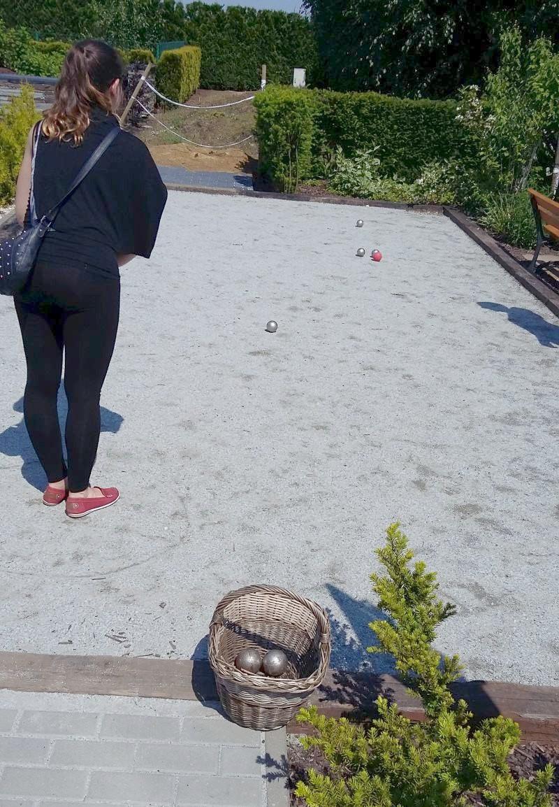 ogrody kapias - gra w boule