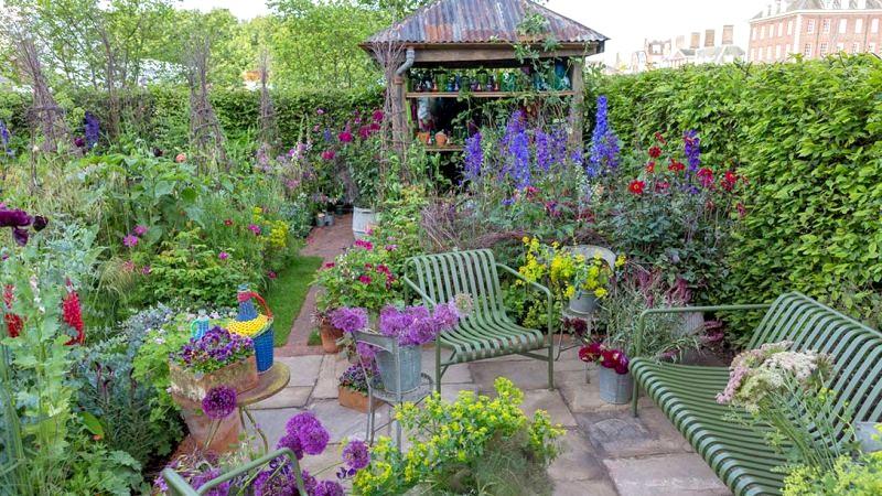 taras w ogrodzie chelsea 2017
