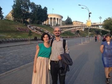 Pavel Salyga i Mariana to także bohaterowie rewolucji 2014 roku