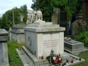 Grob Gabrieli Zapolskiej z wypisana tworczoscia