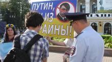 Putin won z Ukrainy Nizny Nowgorod Marsz Pokoju
