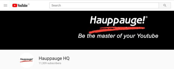 Hauppauge Similarweb 9