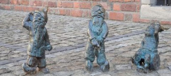 """Who Let The """"Dwarves"""" Out? At Wroclaw, Poland"""