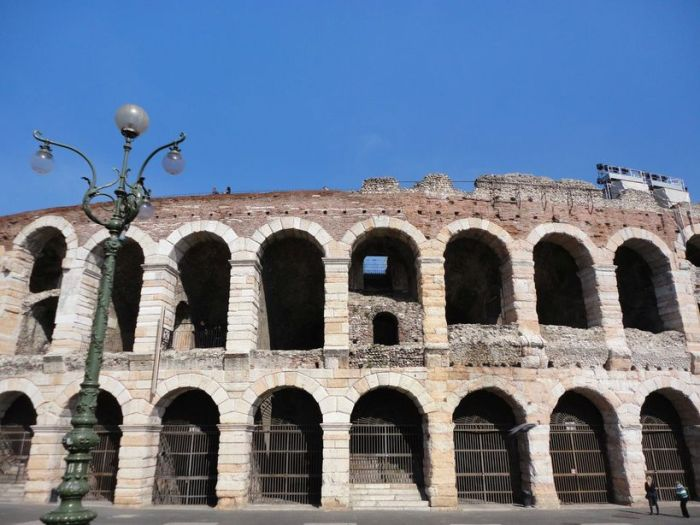 Roman Arena. Verona, Italy