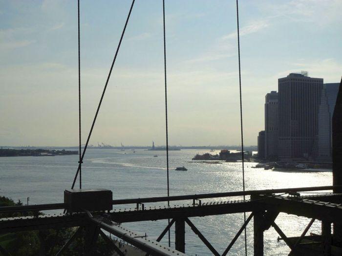 From the Brooklyn Bridge. NYC, USA