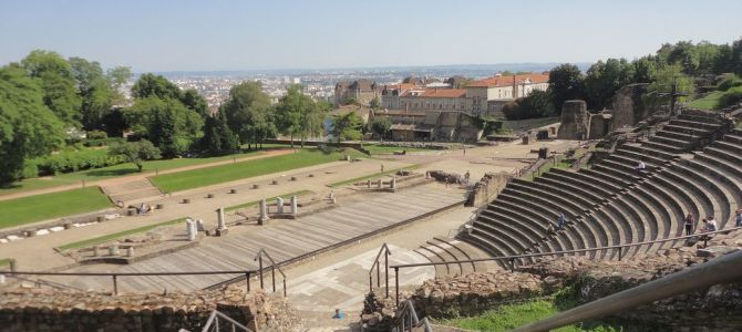 [Lyon, France] Outdoors in Lyon: Parks and a Roman Theater