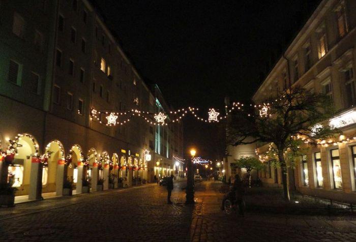 The charming Nikolai Quarter. Berlin, Germany