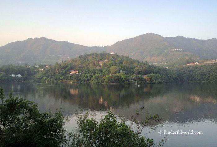 Reflections. Naukuchiatal, Uttarakhand, India.