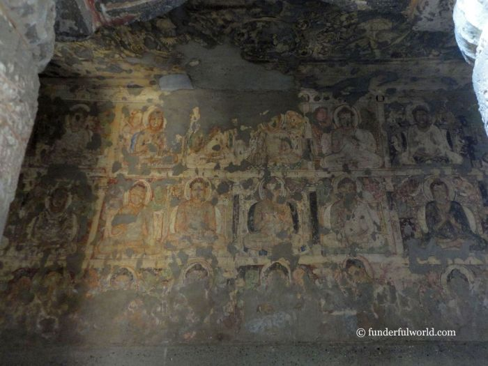 Indelible impressions. Ajanta Caves, India.