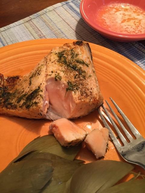 Lemon Glazed Salmon Recipe