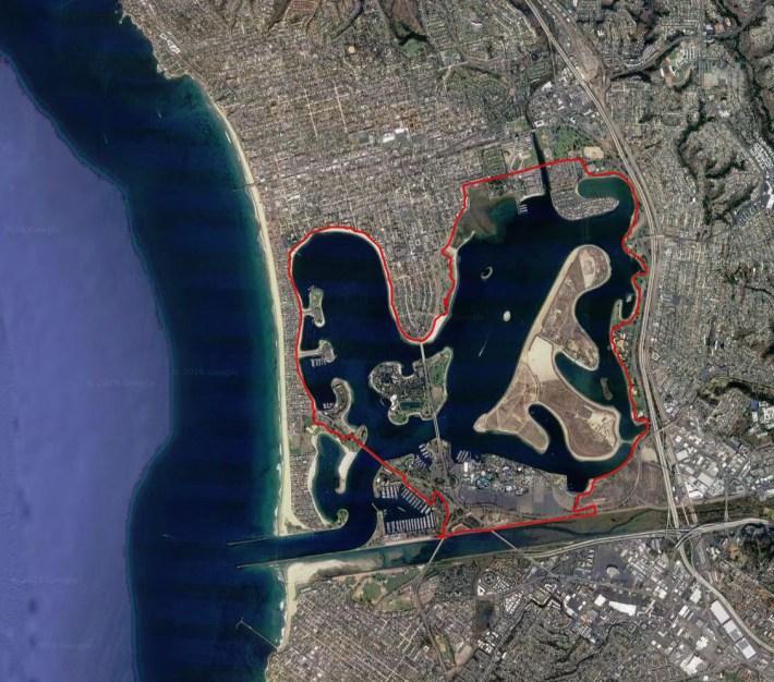 Mission Bay Bike Loop