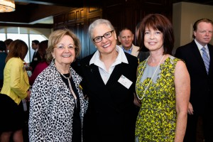 FAB! members Micki Peck, Jodi Peck & FAB! Corporate member, Carolyn Lee, Northern Trust. Photo by Teodora Dakova.