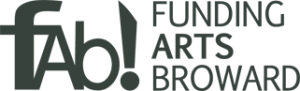 Funding Arts Broward FAB! Logo
